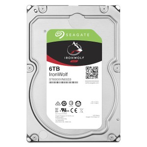 "SEAGATE IronWolf NAS HDD 6TB 3.5"" 7200rpm 256MB"