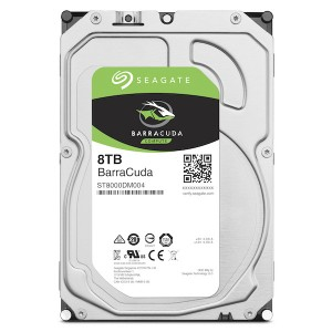 "SEAGATE Desktop BarraCuda 8TB 3.5"" HDD 7200rpm"