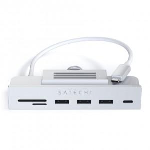 Satechi USB-C Clamp Hub for 24 iMac silver
