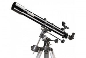 """Skywatcher 70mm (2.75"""") F/900 Refraktor Teleskop mit Äquatorialer EQ1 Montierung"""