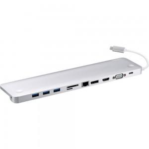 Aten UH3234 USB Typ-C Multiport Dock mit Power Delivery Passthrough bis 60W