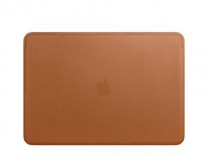 Apple Lederhülle für MacBook Pro 13 (sattelbraun)
