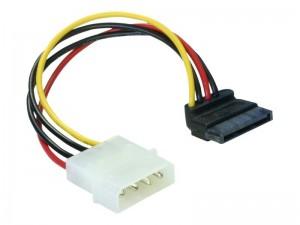 Delock Kabel Power SATA HDD > 4pin Stecker
