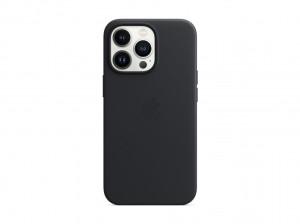 Apple Leder Case iPhone 13 Pro mit MagSafe (mitternacht)