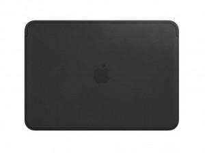 Apple Lederhülle für MacBook (schwarz)
