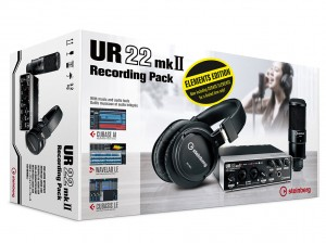 Steinberg UR22 MKII Recording Pack Elements Edition (incl. Cubase Elements)