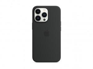 Apple Silikon Case iPhone 13 Pro mit MagSafe (mitternacht)