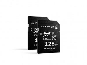 Angelbird SD Card AV PRO UHS-II 128GB V90 2er Pack