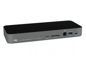 OWC 14-Port Thunderbolt 3 Dock with Cable - Space Gray