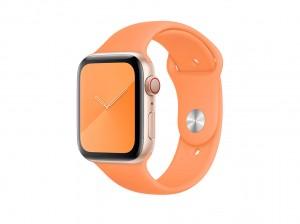Apple Sportarmband für Watch 44mm (vitamin c) Regular