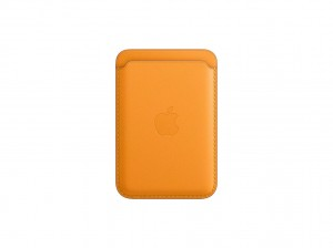Apple Leder Wallet iPhone mit MagSafe (california poppy)