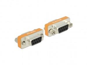 Delock Adapter Nullmodem Sub-D 9 Pin Buchse > Buchse Gender Changer