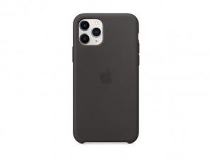 Apple Silikon Case iPhone 11 Pro (schwarz)