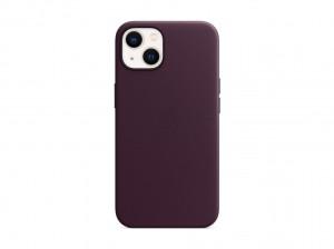 Apple Leder Case iPhone 13 mit MagSafe (dunkelkirsch)