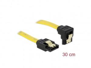 Delock SATA 3 Gb/s Kabel 20 cm gelb