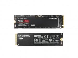 Samsung SSD 980 Pro NVMe M.2 500GB PCIe