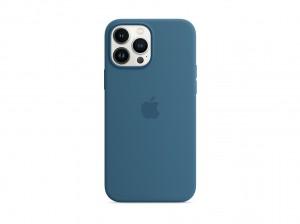 Apple Silikon Case iPhone 13 Pro Max mit MagSafe (eisblau)