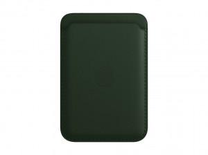 Apple Leder Wallet iPhone mit MagSafe (schwarzgr