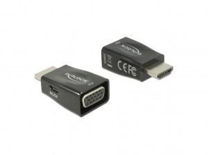 Delock Adapter HDMI-A Stecker > VGA Buchse