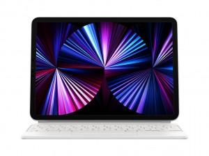 Apple Magic Keyboard iPad Pro 11 3.Gen/Air 4.Gen weiß (US)