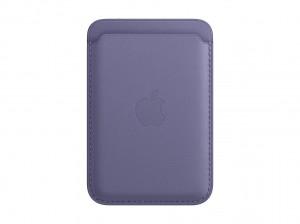 Apple Leder Wallet iPhone mit MagSafe (wisteria)