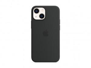 Apple Silikon Case iPhone 13 mini mit MagSafe (mitternacht)