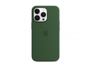 Apple Silikon Case iPhone 13 Pro mit MagSafe (klee)