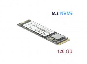 Delock SSD M.2 NVMe Key M 2280 - 128GB PCIe
