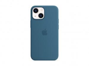 Apple Silikon Case iPhone 13 mini mit MagSafe (eisblau)