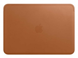 Apple Lederhülle für MacBook (sattelbraun)