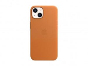 Apple Leder Case iPhone 13 mit MagSafe (goldbraun)