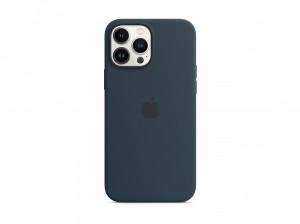 Apple Silikon Case iPhone 13 Pro Max mit MagSafe (abyssblau)
