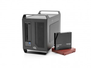 OWC Mercury Pro LTO-8 Solution w/Tape & Cleaner - 12TB/30TB, with Argest Desktop  LTO software