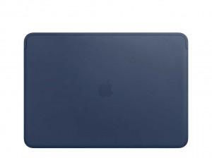 Apple Lederhülle für MacBook Pro 13 (mitternachtsblau)