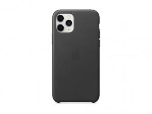 Apple Leder Case iPhone 11 Pro (schwarz)
