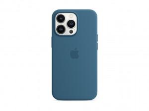 Apple Silikon Case iPhone 13 Pro mit MagSafe (eisblau)