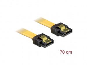 Delock SATA 3 Gb/s Kabel 70 cm gelb