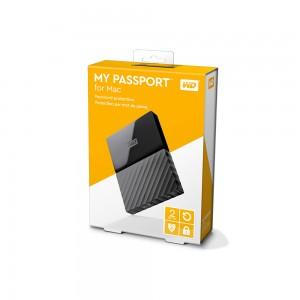 "WD 6,4cm(2,5"") 2TB My Passport für Mac USB3.0"