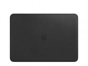 Apple Lederhülle für MacBook Pro 13 (schwarz)