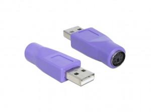 Delock Adapter USB Typ-A Stecker > PS/2 Buchse