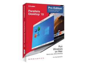 Parallels Desktop v15 Pro Edition int. Mac (1J) *