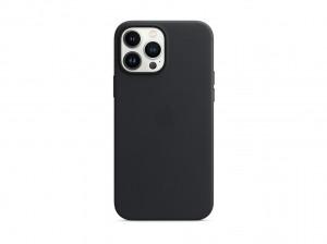 Apple Leder Case iPhone 13 Pro Max mit MagSafe (mitternacht)