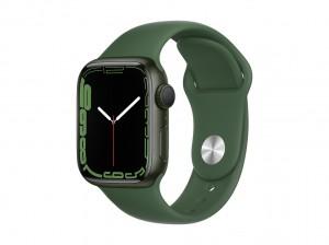 AppleWatch S7 Aluminium 41mm Grün (Sportarmband klee)