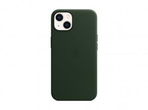 Apple Leder Case iPhone 13 mit MagSafe (schwarzgr