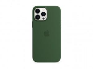 Apple Silikon Case iPhone 13 Pro Max mit MagSafe (klee)