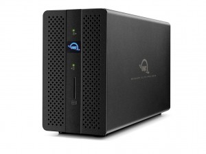 OWC Thunderbolt 3 Dock and Dual-Drive RAID Solution. 2x Thunderbolt 3 / SATA 6.0GB/s / 2x USB 3.1 / Gigabit Ethernet  /