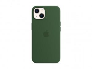 Apple Silikon Case iPhone 13 mit MagSafe (klee)