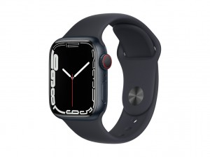 AppleWatch S7 Aluminium 41mm Cellular Mitternacht (Sportarmband mitternacht)