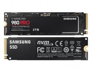 Samsung SSD 980 Pro NVMe M.2 2TB PCIe