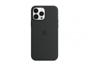 Apple Silikon Case iPhone 13 Pro Max mit MagSafe (mitternacht)